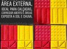 Piso Tátil Brasil Borracha Sintética Área Externa Embutir – Calçadas