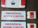 Alarme Audiovisual Sem Fio Para Sanitário Acessível