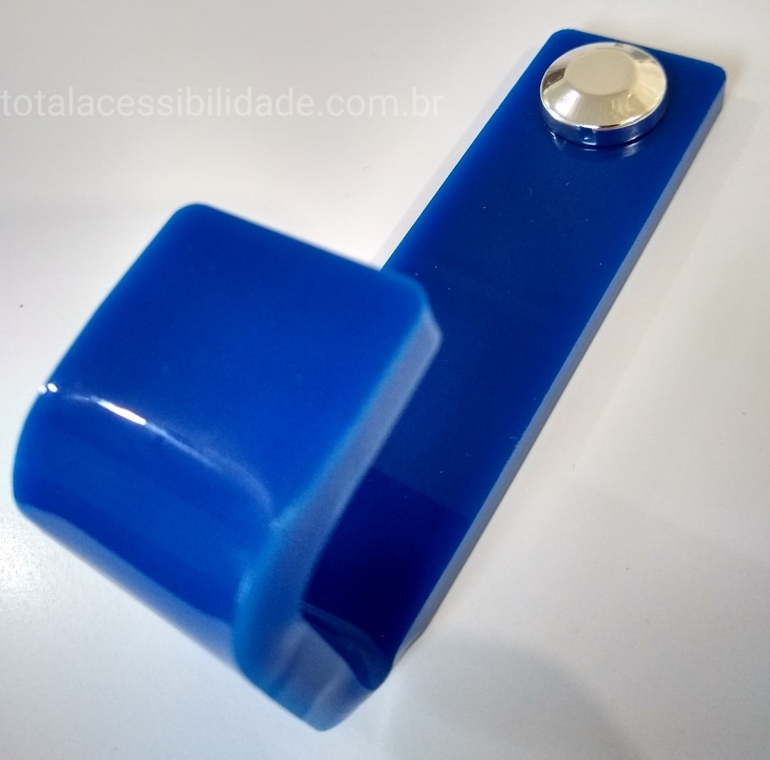 Cabide Acrílico Para Sanitário / Banheiro / Vestiários
